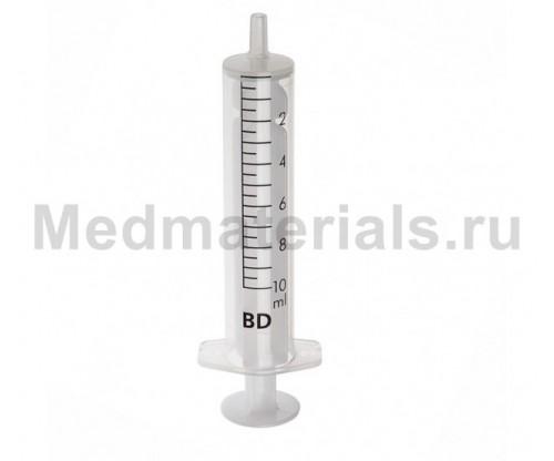 BD Discardit Шприц двухкомпонентный 10 мл, игла 21G (0,8 х 40 мм)