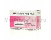 BD Micro-Fine Plus Игла для шприц ручек 29G (0,33 x 12,7 мм)