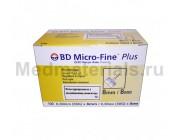 BD Micro-Fine Plus Игла для шприц ручек 30G (0,30 x 8,0 мм)