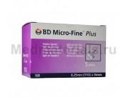 BD Micro-Fine Plus Игла для шприц ручек 31G (0,25 x 5,0 мм)