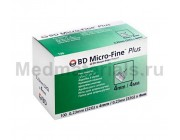 BD Micro-Fine Plus Игла для шприц ручек 32G (0,23 x 4,0 мм)