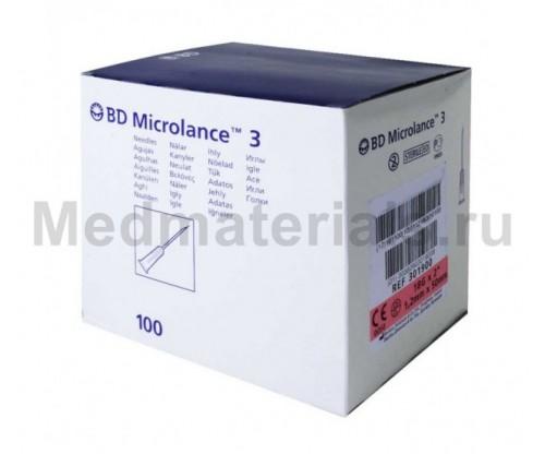 BD Microlance Игла инъекционная одноразовая стерильная 18G (1,2 x 50 мм)