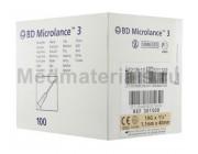 BD Microlance Игла инъекционная одноразовая стерильная 19G (1,1 x 40 мм)