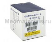 BD Microlance Игла инъекционная одноразовая стерильная 30G (0,3 x 13 мм)