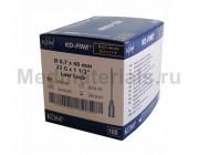 KDM KD-Fine Игла инъекционная одноразовая стерильная 22G (0,7 х 40 мм)