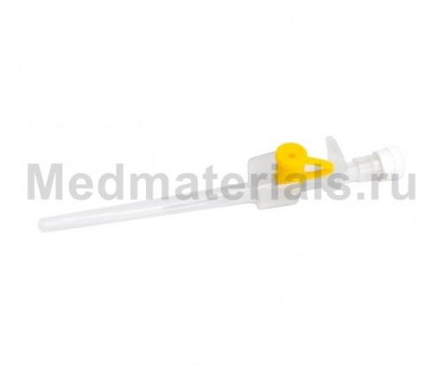 KDM KD-Fix Катетер внутривенный 24G (0,7 х 19 мм)