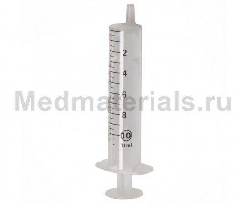 KD-JECT Шприц двухкомпонентный 10 мл, игла 21G (0,8 х 40 мм)