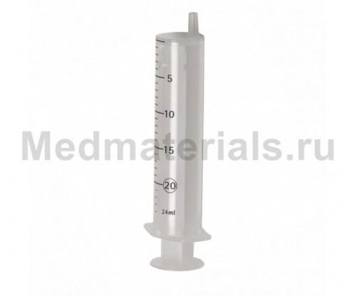 KD-JECT Шприц двухкомпонентный 20 мл, игла 21G (0,8 х 40 мм)