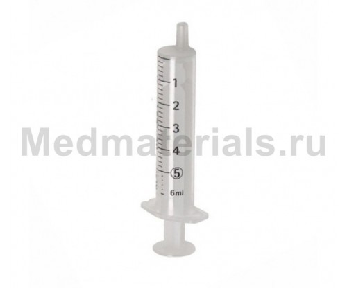 KD-JECT Шприц двухкомпонентный 5 мл, игла 21G (0,8 х 40 мм)