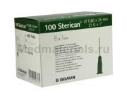 B.Braun Sterican Игла инъекционная одноразовая стерильная 21G (0,8 x 25 мм)