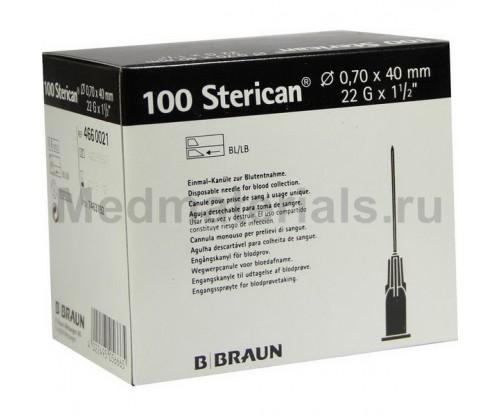 B.Braun Sterican Игла инъекционная одноразовая стерильная 22G (0,7 x 40 мм)