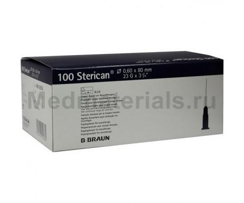 B.Braun Sterican Игла инъекционная одноразовая стерильная 23G (0,6 x 80 мм)