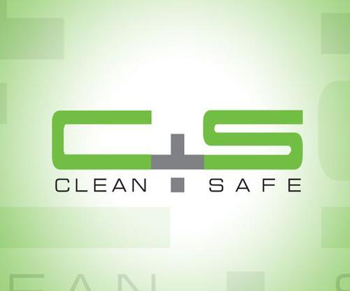 Clean+Safe №3 Перчатки нитриловые, полная текстура, голубые EN1 №100
