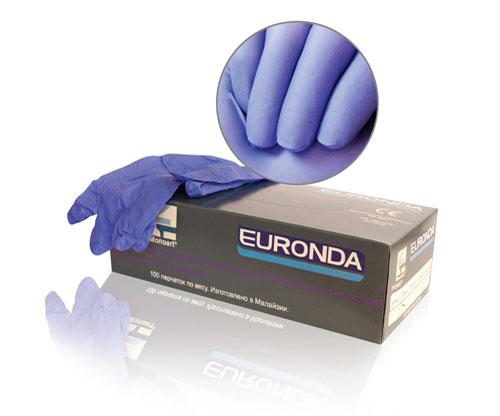 Euronda №2 Перчатки латексные