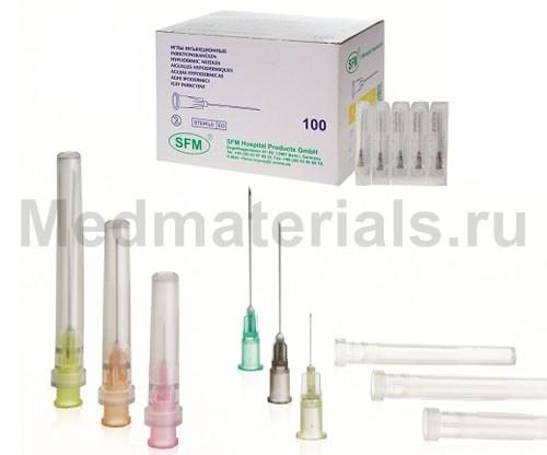 SFM Игла инъекционная одноразовая стерильная 22G (0,7 х 30 мм)