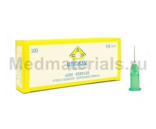 Mesoram RI.MOS Игла для микроинъекций 33G (0,20 х 12 мм)