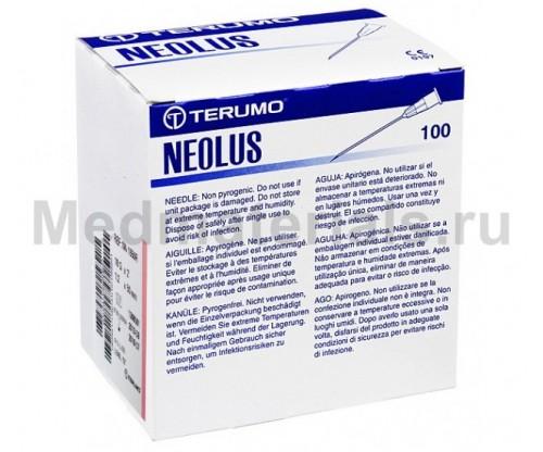 Terumo Neolus Игла инъекционная одноразовая стерильная 18G (1,2 х 50 мм)