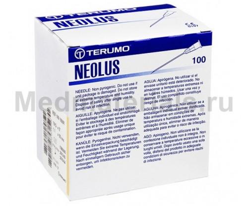 Terumo Neolus Игла инъекционная одноразовая стерильная 19G (1,1 х 50 мм)