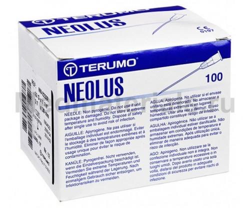 Terumo Neolus Игла инъекционная одноразовая стерильная 22G (0,7 х 30 мм)