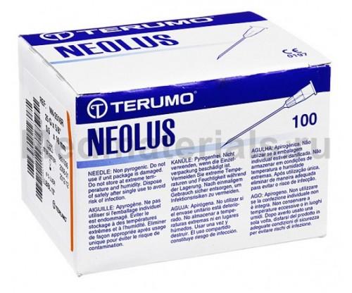 Terumo Neolus Игла инъекционная одноразовая стерильная 25G (0,5 х 16 мм)