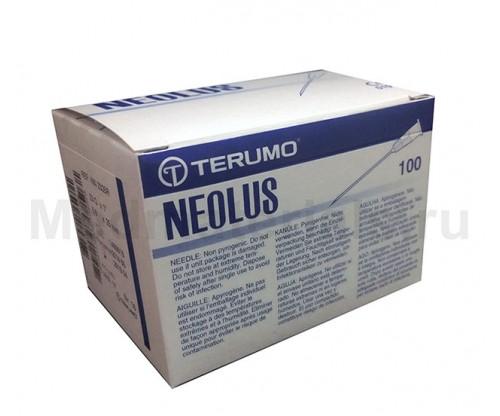 Terumo Neolus Игла инъекционная одноразовая стерильная 23G (0,6 х 25 мм)